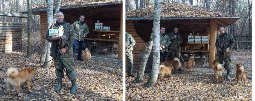 Змагання мисливських собак, Харків