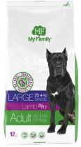 Сухой корм с ягненком для взрослых собак больших пород My Family™ Large Adult, 12 кг