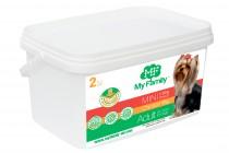 Сухой корм с курицей для взрослых собак маленьких пород My Family™ Mini Adult, 2 кг