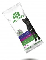 Сухой корм с ягненком для взрослых собак больших пород My Family™ Large Adult, 10 шт по 100 гр - фото 2