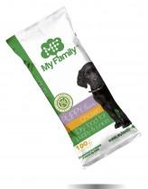 My Family Сухой корм с курицей для щенков My Family™ Premium Puppy, 10 шт по 100 гр