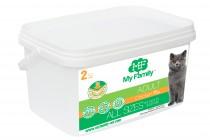 Сухой корм с курицей для взрослых котов всех пород My Family™ Adult Cat, 2 кг
