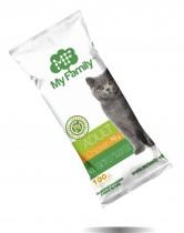 Сухой корм с курицей для взрослых котов всех пород My Family™ Adult Cat, 10 шт по 100 гр - фото 2