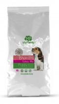 Сухой корм с индейкой для щенков, беременных и лактирующих собак My Family™ Babydog, 10 кг