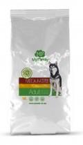 Сухой корм с курицей для взрослых собак средних пород My Family™ Medium Adult, 10 кг