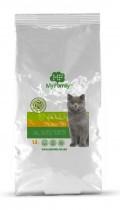 Сухой корм с курицей для взрослых котов всех пород My Family™ Adult Cat, 10 кг