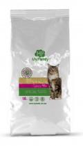 Сухой корм с индейкой для стерилизованных котов всех пород My Family™ Sterilized, 10 кг