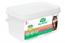 Сухой корм с индейкой для стерилизованных котов всех пород My Family™ Sterilized, 2 кг