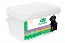 Сухой корм с курицей для щенков My Family™ Premium Puppy, 2 кг