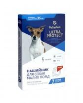 Ошейник от блох и клещей Palladium Ultra Protect для собак мелких пород (35 см, красный)