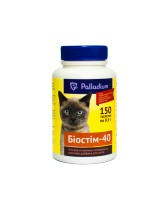 Белковая витаминно-минеральная добавка Palladium БІОСТІМ-40 для кошек (150 таблеток)