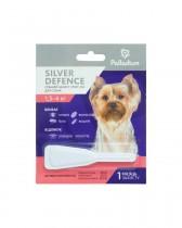 Капли на холку от блох, клещей и комаров Palladium Silver Defence для собак весом 1,5-4 кг