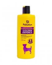 Шампунь от блох и клещей Palladium Golden Defence для собак мелких пород (250 мл)