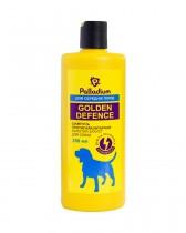Шампунь от блох и клещей Palladium Golden Defence для собак средних пород (250 мл)