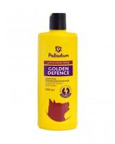 Шампунь от блох и клещей Palladium Golden Defence для собак больших пород (250 мл)