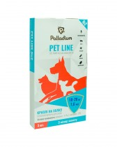 Капли на холку Pet Line №2 от блох и клещей для собак весом 10-20 кг (3 пипетки)