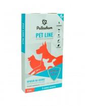 Капли на холку Pet Line №2 от блох и клещей для собак весом 20-40 кг (3 пипетки)