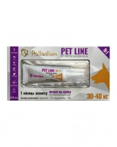 Капли на холку Pet Line №1 от блох и клещей для собак весом 30-40 кг (1 туба)