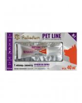 Капли на холку Pet Line №1 от блох и клещей для собак весом более 40 кг (1 туба)
