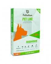 Ошейник Pet Line №3 от блох и клещей для собак средних и больших пород (70 см, серый)