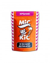 Мясные кусочки с кроликом (24 шт.) для взрослых котов и котят, Міс Кіс™