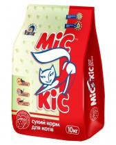 """Сухой корм для взрослых кошек """"Мясное ассорти"""" МіС КіС™, 10 кг"""