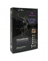 Ошейник от блох и клещей Palladium Extra Safe для кошек и собак мелких пород (35 см, оранжевый)