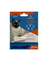 Капли на холку от блох и клещей Palladium Massive Action для кошек весом 1,5-4 кг