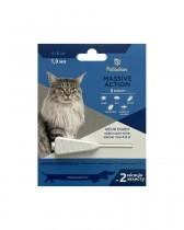 Капли на холку от блох и клещей Palladium Massive Action для кошек весом 4-8 кг