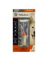 Капли на холку от блох, клещей и комаров Palladium Strong Effect для собак весом 20-40 кг