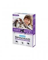 Таблетка от блох Superium Spinosad для кошек и собак весом 2,5-5 кг