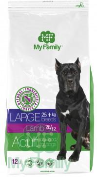 My Family Сухой корм с ягненком для взрослых собак больших пород My Family™ Large Adult, 12 кг