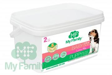 My Family Сухой корм с индейкой для щенков, беременных и лактирующих собак My Family™ Babydog, 2 кг