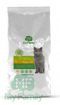My Family Сухой корм с курицей для взрослых котов всех пород My Family™ Adult Cat, 10 кг