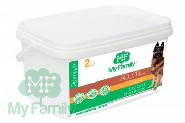 My Family Сухой корм с курицей для взрослых собак всех пород My Family™ Premium Adult, 2 кг