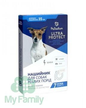 Ошейник Palladium Ultra Protect для маленьких собак белый