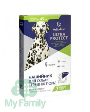 Ошейник Palladium Ultra Protect для средних собак синий