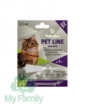 Краплі на холку Palladium Pet Line the ONE для котів