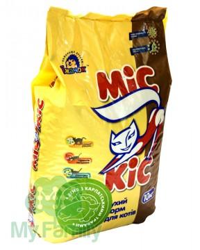 Сухой корм для кошек с ягненком и карпатскими травами МіС КіС