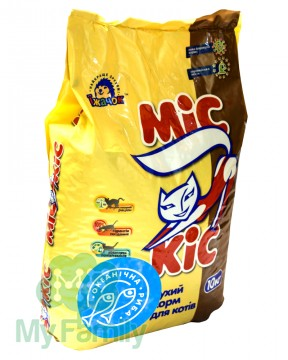 Сухой корм для кошек с океанической рыбой МіС КіС