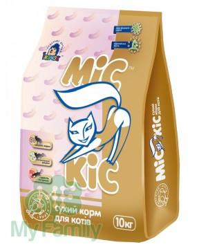 Сухой корм для кошек с курицей МіС КіС