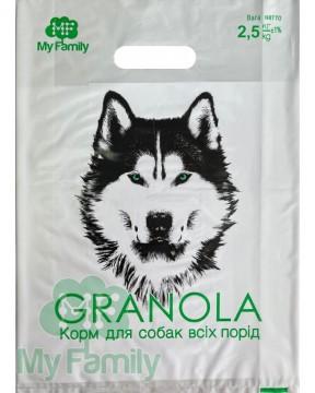 Корм для собак всех пород My Family™ Granola Standart