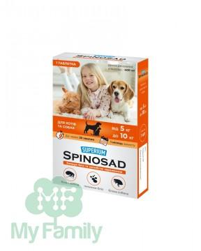 Таблетка от блох Superium Spinosad для кошек и собак